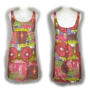 Trina Turk Floral Cotton Baby Doll Dress
